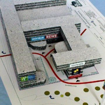 Universitätsplatz Modell & Projektentwicklung