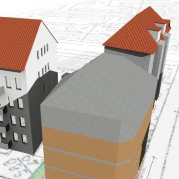 Bild von der Schattenberechnung eines Wohnhauses von Architekt Oliver Schilling