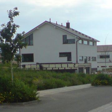Foto eines modernen Einfamilienwohnhaus von Oliver Schilling